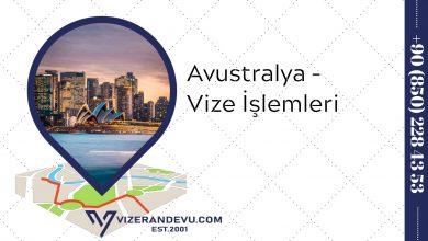 Avustralya - Vize İşlemleri