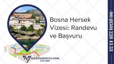 Bosna Hersek Vizesi: Randevu ve Başvuru (2021)