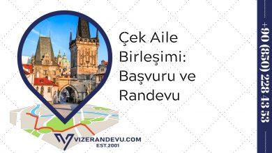 Çek Aile Birleşimi: Başvuru ve Randevu 2021