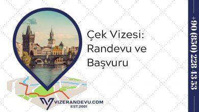 Çek Vizesi: Randevu ve Başvuru (2021)