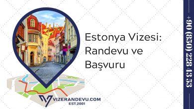 Estonya Vizesi: Randevu ve Başvuru (2021)