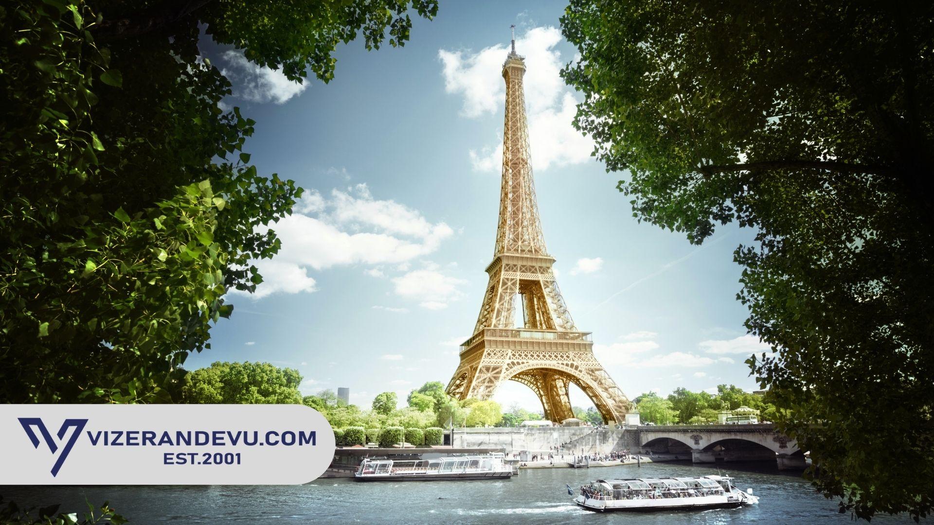 Fransa Vize Formu ve Dilekçe 2021