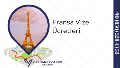 Fransa Vize Ücretleri (2021)