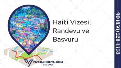Haiti Vizesi: Randevu ve Başvuru (2021)