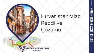 Hırvatistan Vize Reddi ve Çözümü (2021)