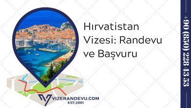 Hırvatistan Vizesi: Randevu ve Başvuru (2021)