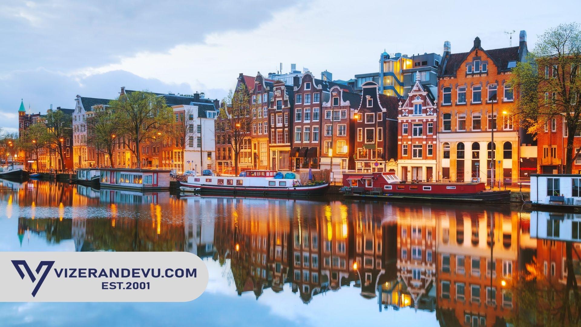 Hollanda Vize Formu ve Dilekçe 2021