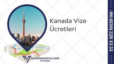 Kanada Vize Ücretleri (2021)