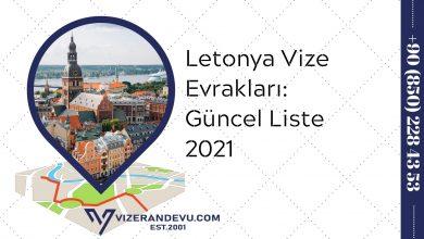 Letonya Vize Evrakları: Güncel Liste 2021
