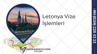 Letonya Vize İşlemleri