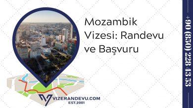 Mozambik Vizesi: Randevu ve Başvuru (2021)