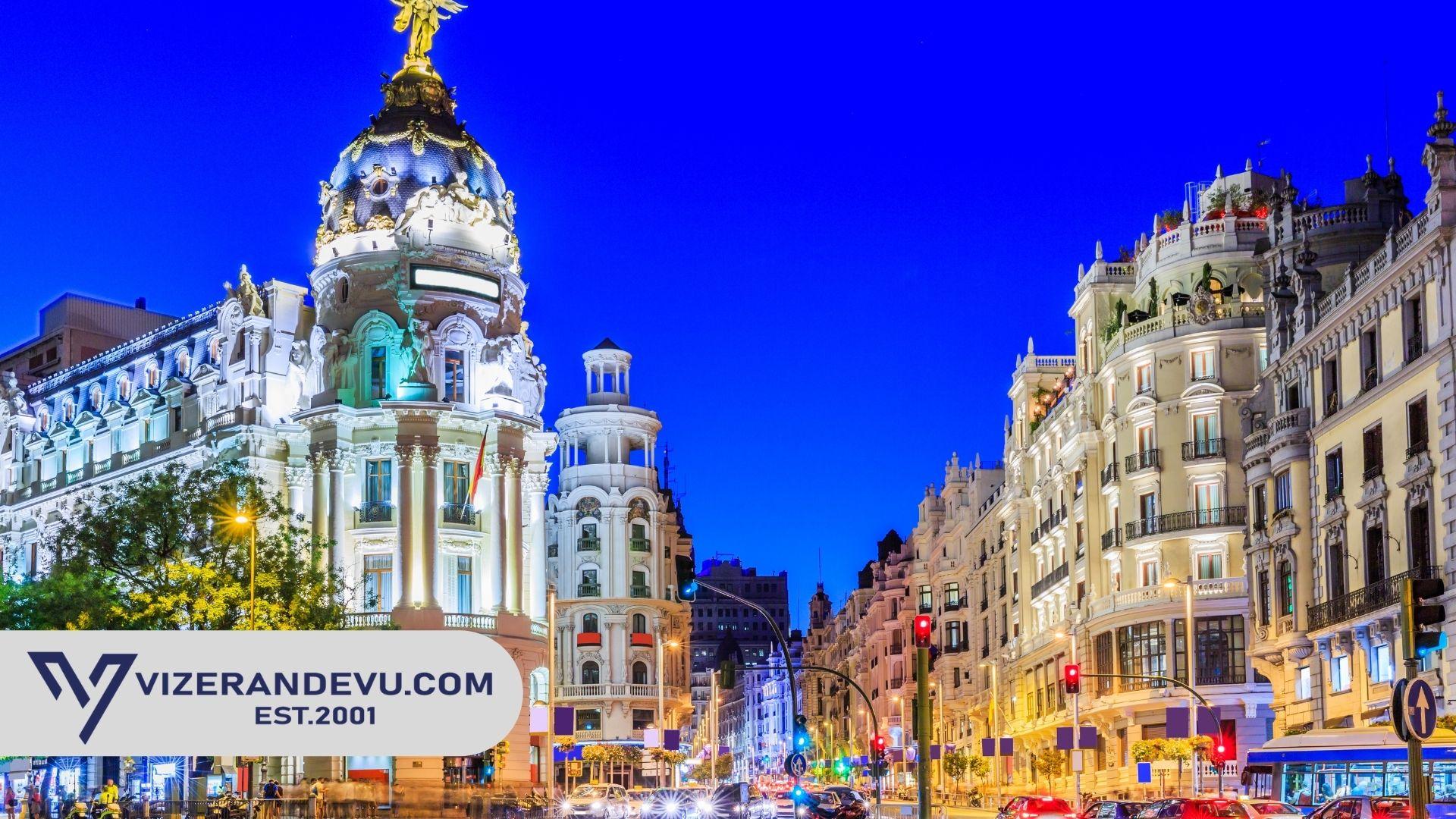 İspanya Vize Formu ve Dilekçe 2021