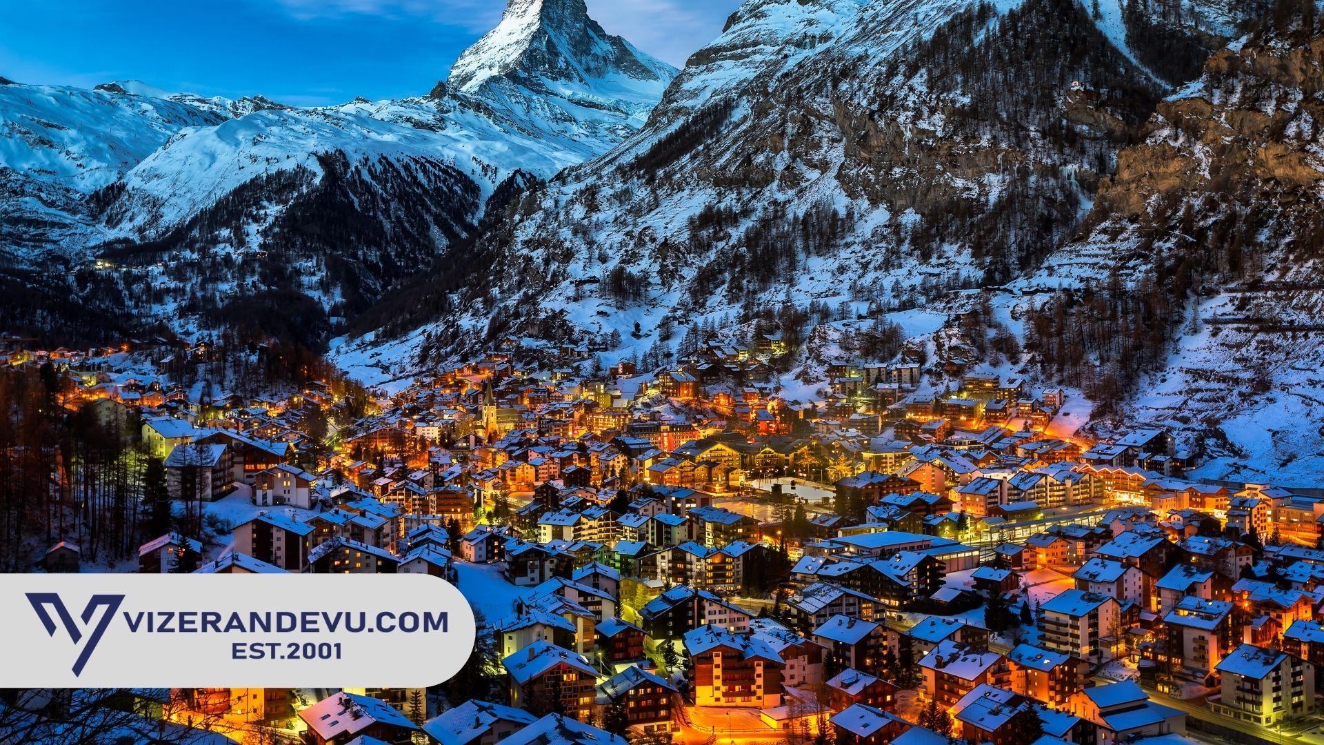 İsviçre Vizesi: Randevu ve Başvuru (2021)