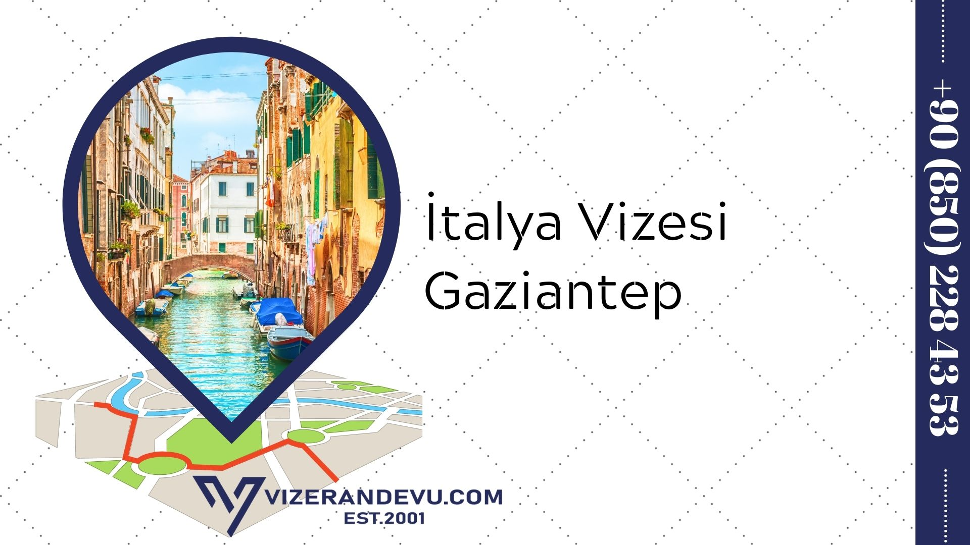 İtalya Vizesi Gaziantep