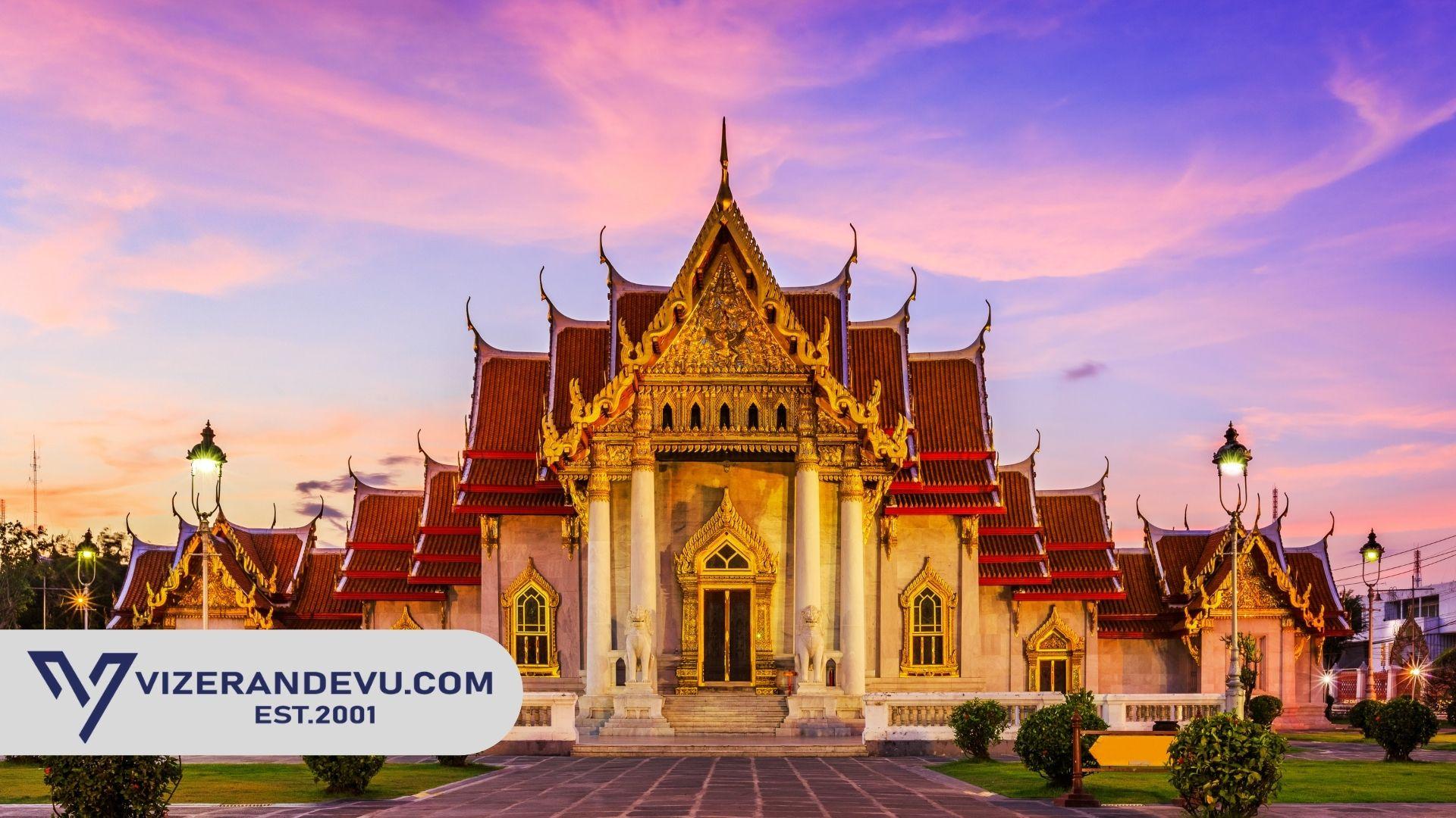 Tayland Vizesi: Randevu ve Başvuru (2021)
