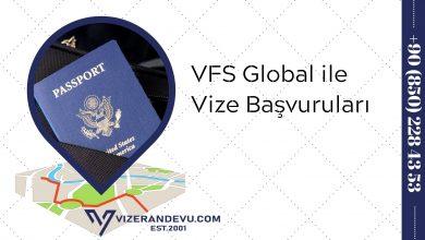 VFS Global ile Vize Başvuruları