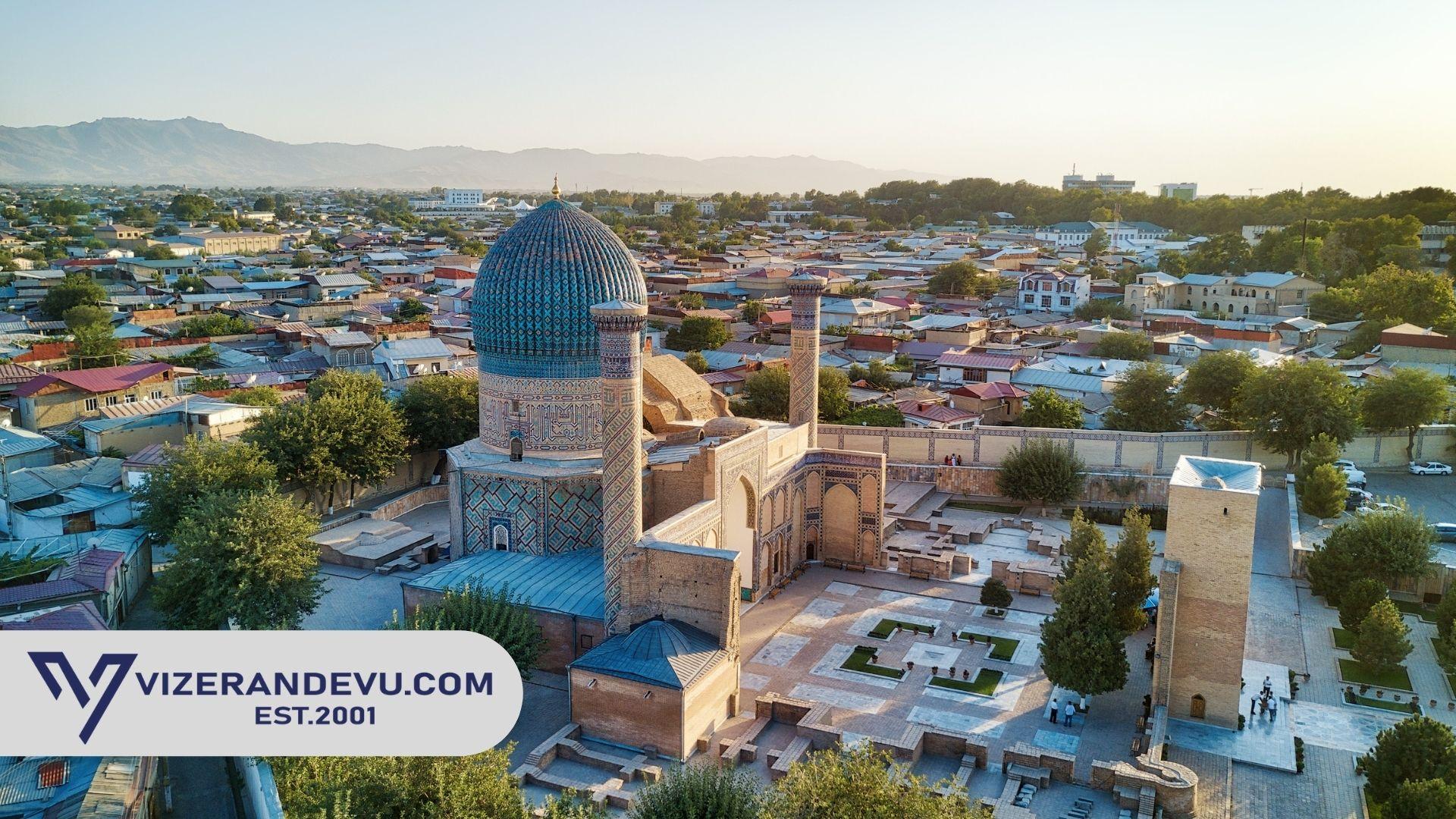 Özbekistan Vizesi: Randevu ve Başvuru (2021)
