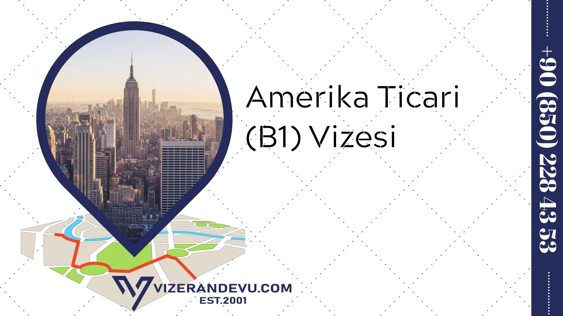 Amerika Ticari (B1) Vizesi