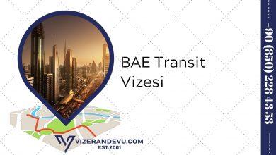 BAE Transit Vizesi