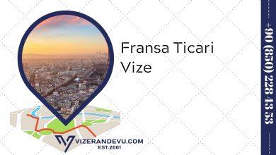 Fransa Ticari Vize