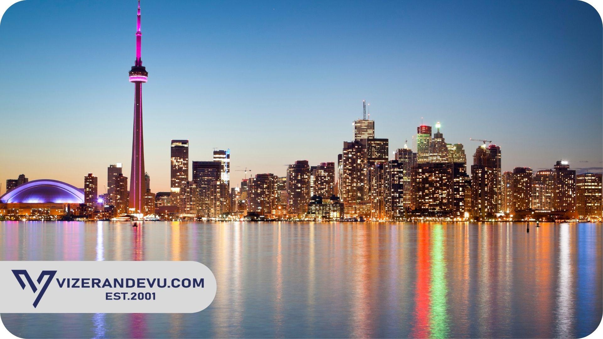 Kanada Turizm ve Ziyaretler İçin Ziyaretçi Vizesi