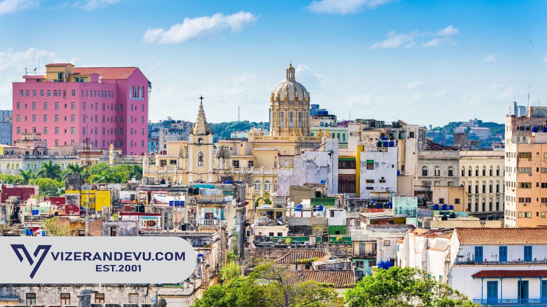 Küba Vizesi Gerekli Evraklar