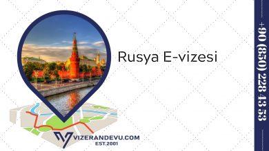 Rusya E-vizesi