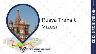 Rusya Transit Vizesi