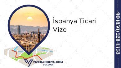 İspanya Ticari Vize