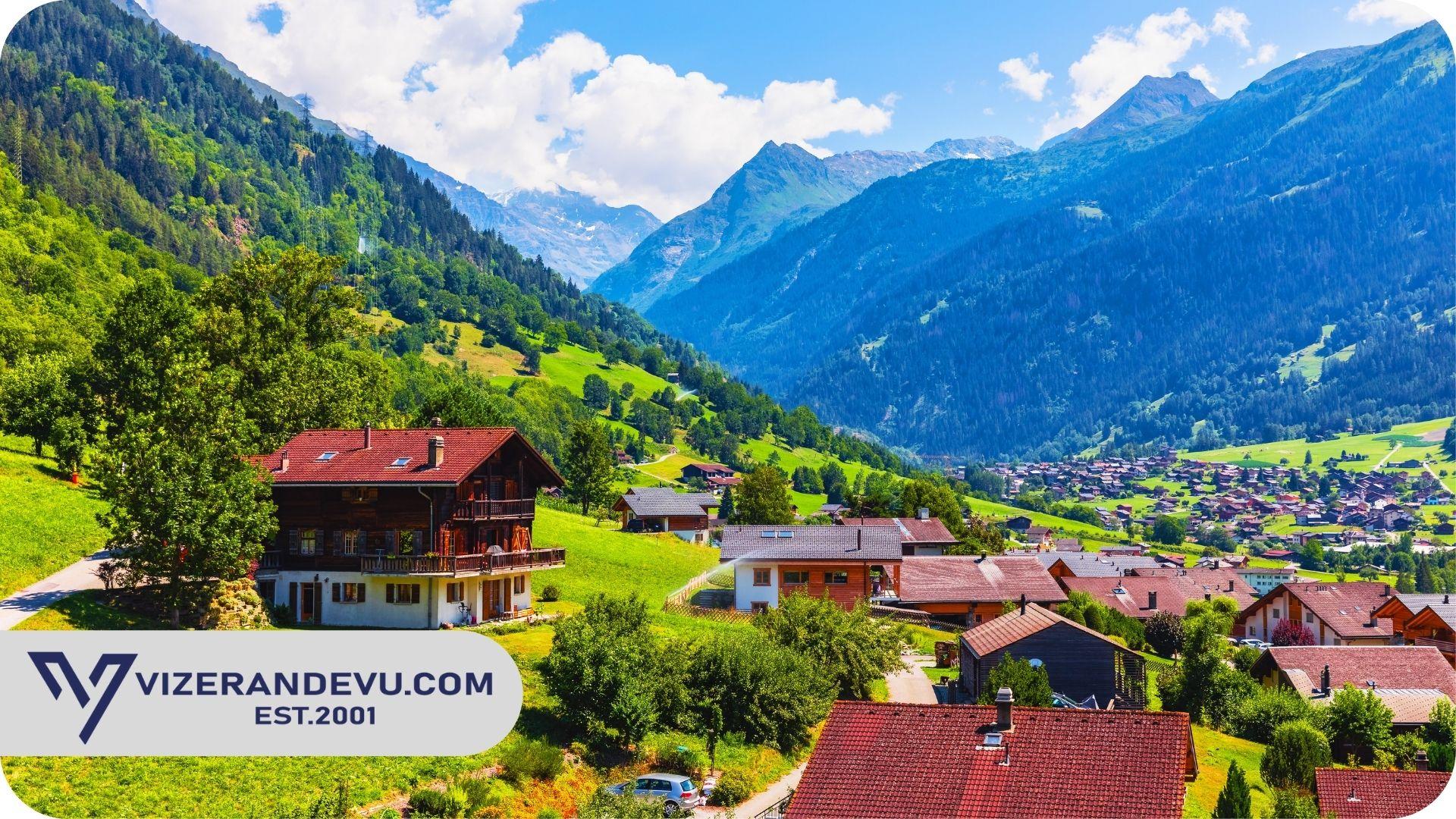 İsviçre Uzun Süreli Vize
