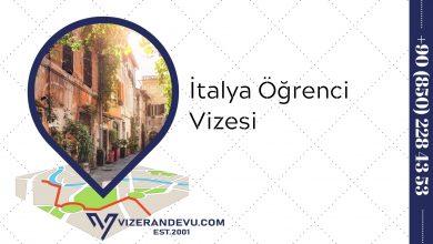 İtalya Öğrenci Vizesi