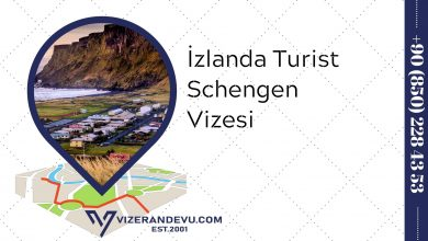 İzlanda Turist Schengen Vizesi