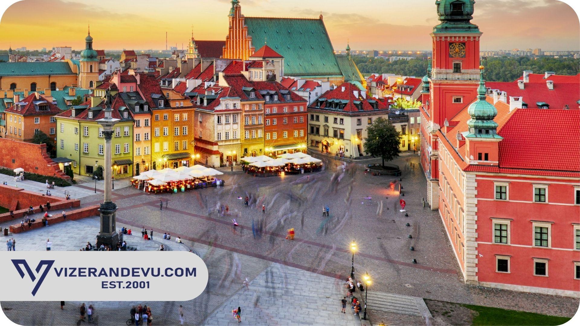 Polonya Erasmus Vizesi-Eğitim ve Öğrenci Vizesi