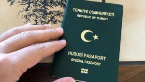 Yeşil pasaport vize