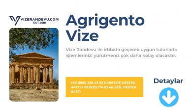 İtalya Agrigento Vize Başvurusu