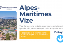 Fransa Alpes-Maritimes Vize Başvurusu