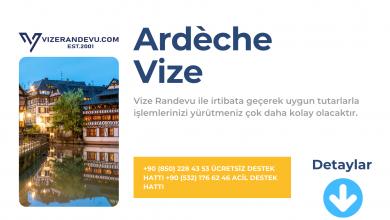 Fransa Ardèche Vize Başvurusu