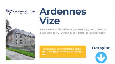 Fransa Ardennes Vize Başvurusu