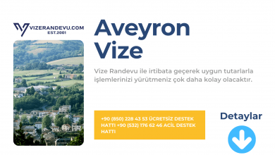 Fransa Aveyron Vize Başvurusu