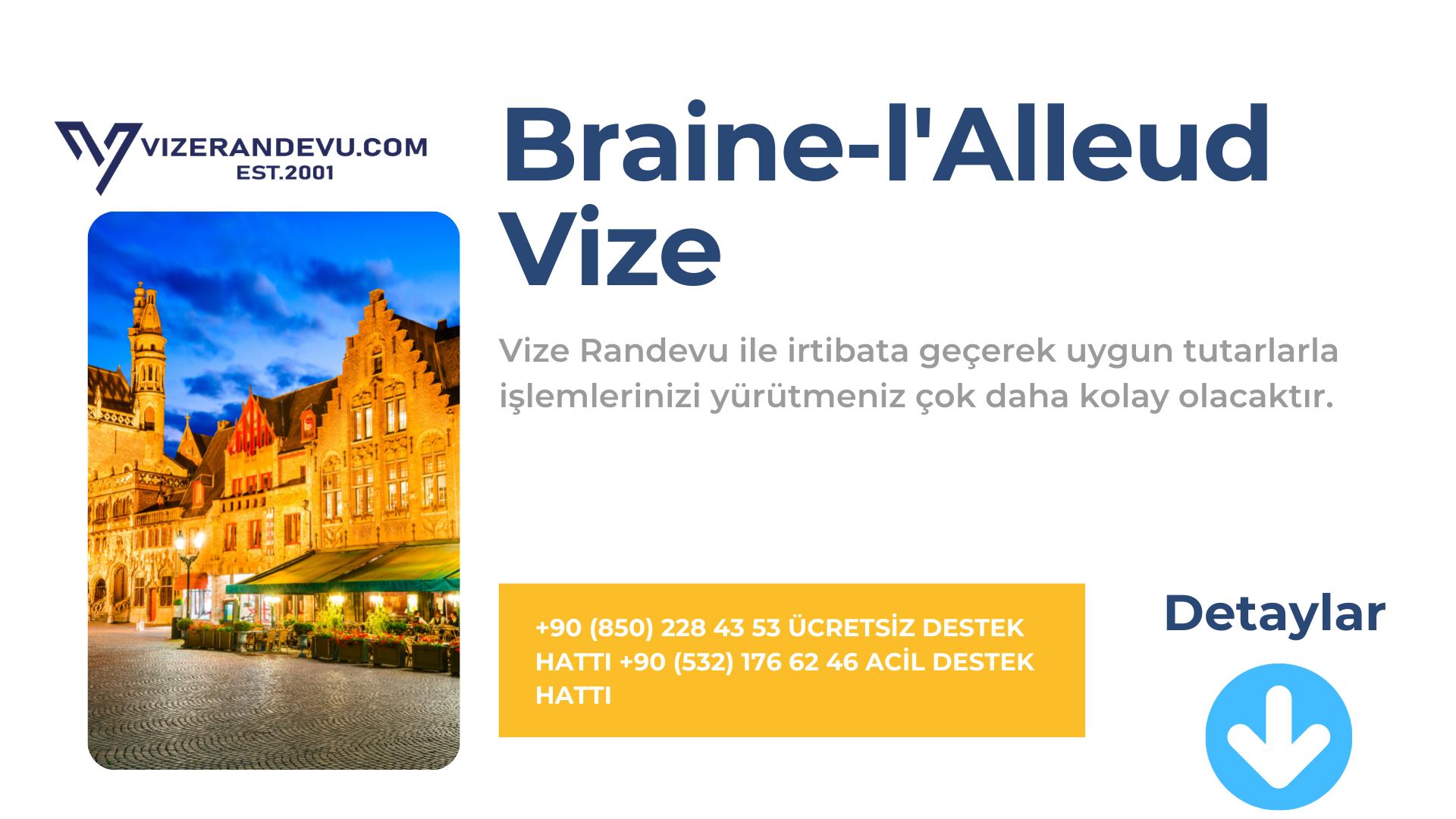 Braine-l'Alleud Vize