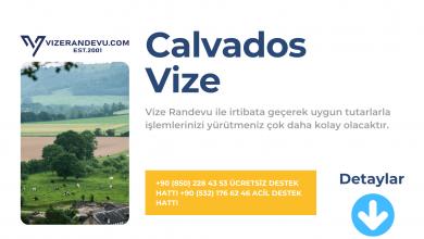 Fransa Calvados Vize Başvurusu