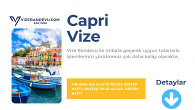 İtalya Capri Vize Başvurusu
