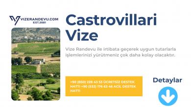 İtalya Castrovillari Vize Başvurusu