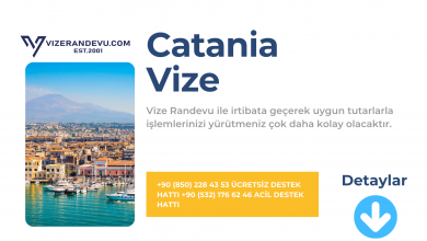 İtalya Catania Vize Başvurusu