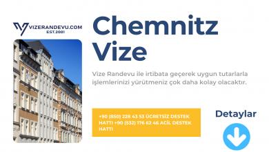 Almanya Chemnitz Vize Başvurusu