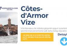 Fransa Cotes-d'Armor Vize Başvurusu