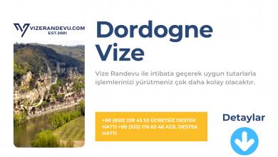Fransa Dordogne Vize Başvurusu