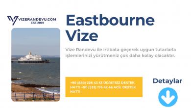 İngiltere Eastbourne Vize Başvurusu