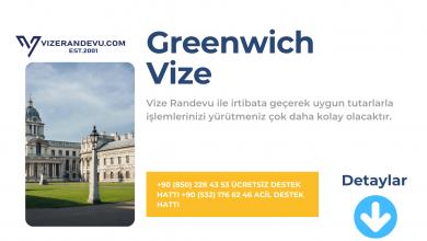 İngiltere Greenwich Vize Başvurusu
