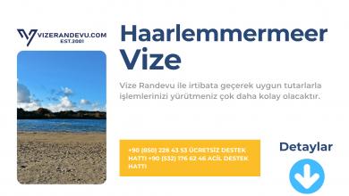 Hollanda Haarlemmermeer Vize Başvurusu